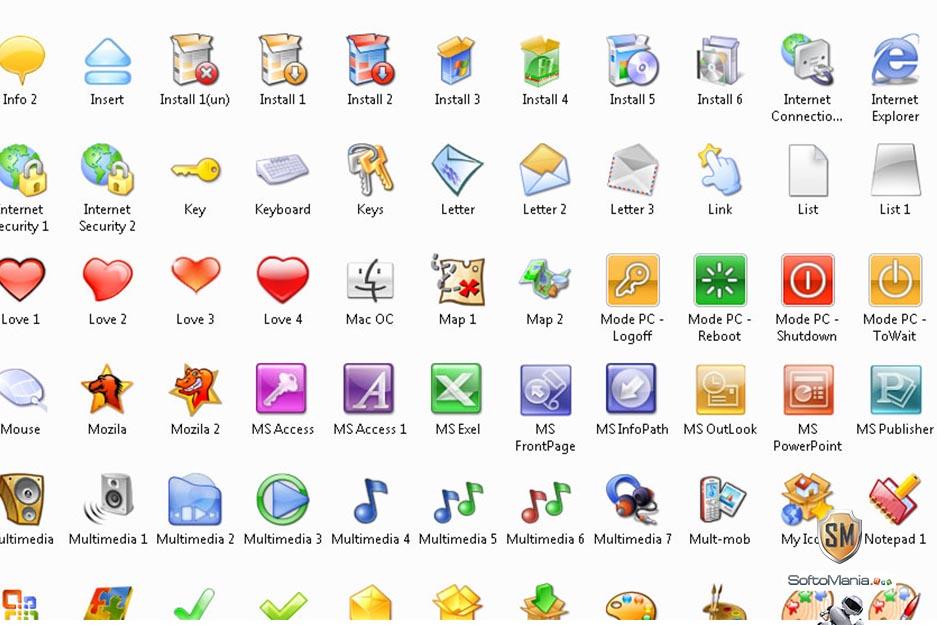 Скачать программу с иконками