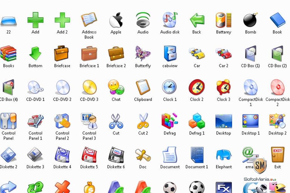Скачать иконки для программ